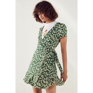 Urban Outfitters Kimchi Blue Rita Wrap Dress